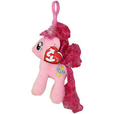 TY Beanie Baby - PINKIE PIE w/Glitter Hairs (My Little Pony) (Key Clip - 5 inch)