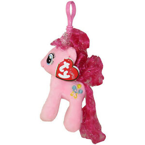 212923f4308 TY Beanie Baby - PINKIE PIE w Glitter Hairs (My Little Pony) (Key ...