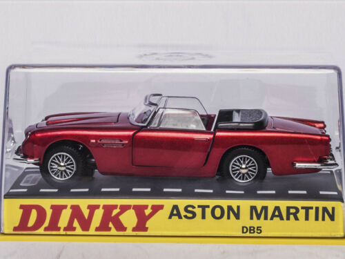 Diecast Atlas 1:43 Dinky Toys DB5 110 ASTON MARTIN BREVET EN COURS Car MODEL