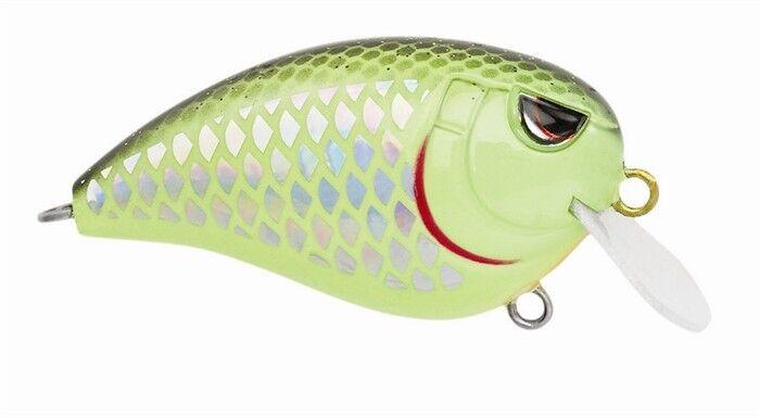 Spro Baby Fat John 50 Green Perch Barsch 50mm10,4g Wobbler Grün Floating NEW OVP