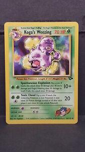 Koga-039-s-Weezing-50-Gym-Challenge-Uncommon-Pokemon-Card-Near-Mint