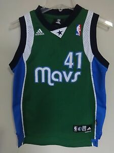 1cebf650200 Image is loading Vintage-Adidas-Dirk-Nowitzki-41-Dallas-Mavericks-Premium-