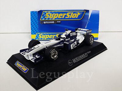 Slot SCX Scalextric Superslot H2647 BMW Williams F1 2005 No 8 Allianz RBS