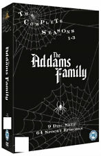 THE ADDAMS FAMILY :  COMPLETE SERIES - DVD - REGION 2 UK