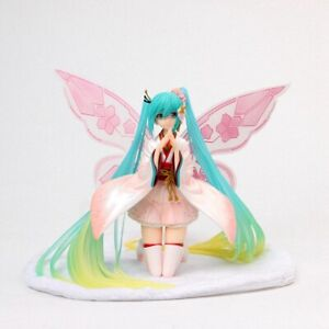 New-22CM-Hatsune-Miku-2017-kimono-Racing-Girl-Version-Anime-Figure-Toy-No-Box