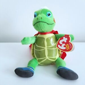 TY Beanie Baby - TUCK the Turtle (Nick Jr. - Wonder Pets) (6.5 inch)