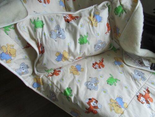 3 pièces Unterbett Lit bébé Set 100/% laine coussins oberbett Baby Lansfield