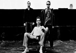 Depeche-Mode-2-Photo-English-Electro-Rock-Band-Picture-Vintage-Music-Poster