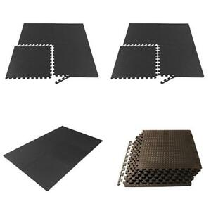 Puzzle Exercise Mat Foam Interlocking Tiles Martial Arts Karate Kink Box kung fu