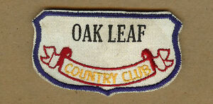 Vintage-Oak-Leaf-Country-Club-REINBECK-Iowa-IA-Patch