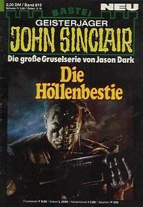 John-Sinclair-Nr-0815-Zustand-2-1-Auflage