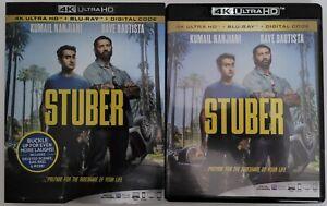 STUBER 4K ULTRA HD BLU RAY 2 DISC SET + SLIPCOVER SLEEVE FREE WORLDWIDE SHIPPING