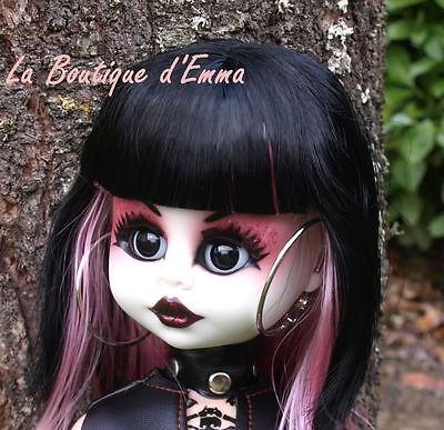 WILEMINA splendide POUPEE de style GOTHIQUE 46 cm collection ou jouet PROMO