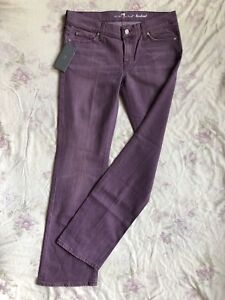 X For W32 low Jeans Seven l34 Regular All Stretch Bootcut 7 Waist dell'umanità Fit g1aUqnZw