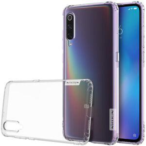 Funda-Nillkin-Nature-para-Xiaomi-Mi-9-Gel-Antideslizante-Silicona-Transparente