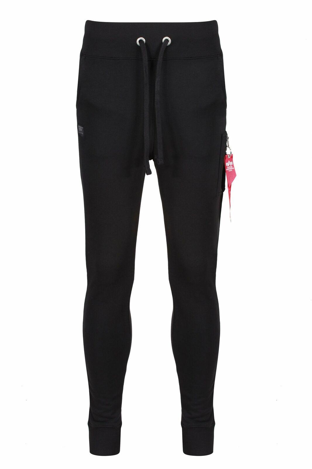 ALPHA INDUSTRIES X-Fit Slim Cargo Pant | Black