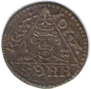 (115) Irish Henry III silver penny, Dublin mint, c. 1251-1254  Souvenir.