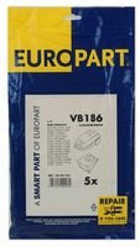 46-vb-186 Electrolux Samba Compatible papel bolsas de vacío X5 Pack