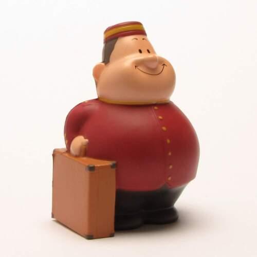 Knautschfigur Herr Bert  Page Bert Anti-Stress Stressball Handtrainer