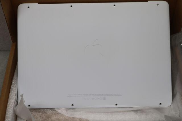 Original OEM Apple White MacBook A1342 Hinge Clutch Bezel Cover