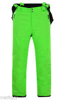 Dare2b Keep Up Short Leg Mens Lime Green Ski Salopettes Pants Braces