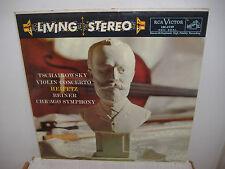 RCA Living Stereo LSC-2129 TCHAIKOVSKY Violin Concerto - HEIFETZ - REINER - SD