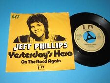 Jeff Phillips / Yesterday's Hero (Germany, United Artists UA 35 893 A) - 7""