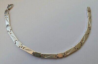 Antiquitäten & Kunst Radient Armband Schlich Zeitlos 925 Silber Vintage 70er Bracelet Silver Geeignet FüR MäNner Und Frauen Aller Altersgruppen In Allen Jahreszeiten
