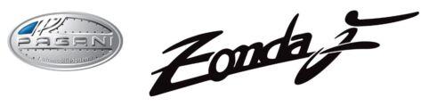 Huayra Pagani Workshop Garage Banner Zonda F AMG