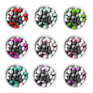 Bebe-Dentition-Lentille-Silicone-Loose-Beads-dentition-Bracelet-Bijoux-Jouets-Making