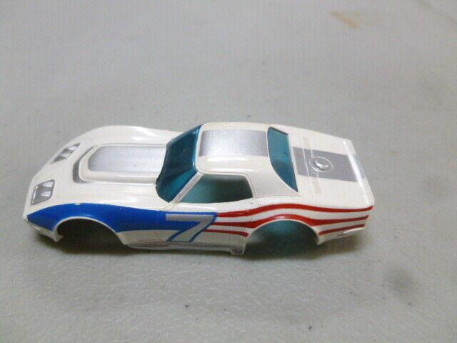 Tyco Corvette ranura de coche shell