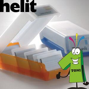 Details Zu Helit Lernkartei Beebox A8 Karteibox Karteikasten Karteikarten O Visitenkarten
