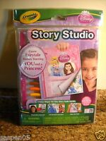 Crayola Disney Princess Story Studio Story Book Art Activity Set