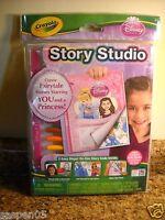 Crayola Disney Princess Story Studio Story Book Art Activity Set