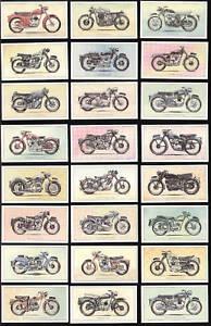 Popular-Motorcycles-1950s-1960s-Print-Art-Trade-Cards