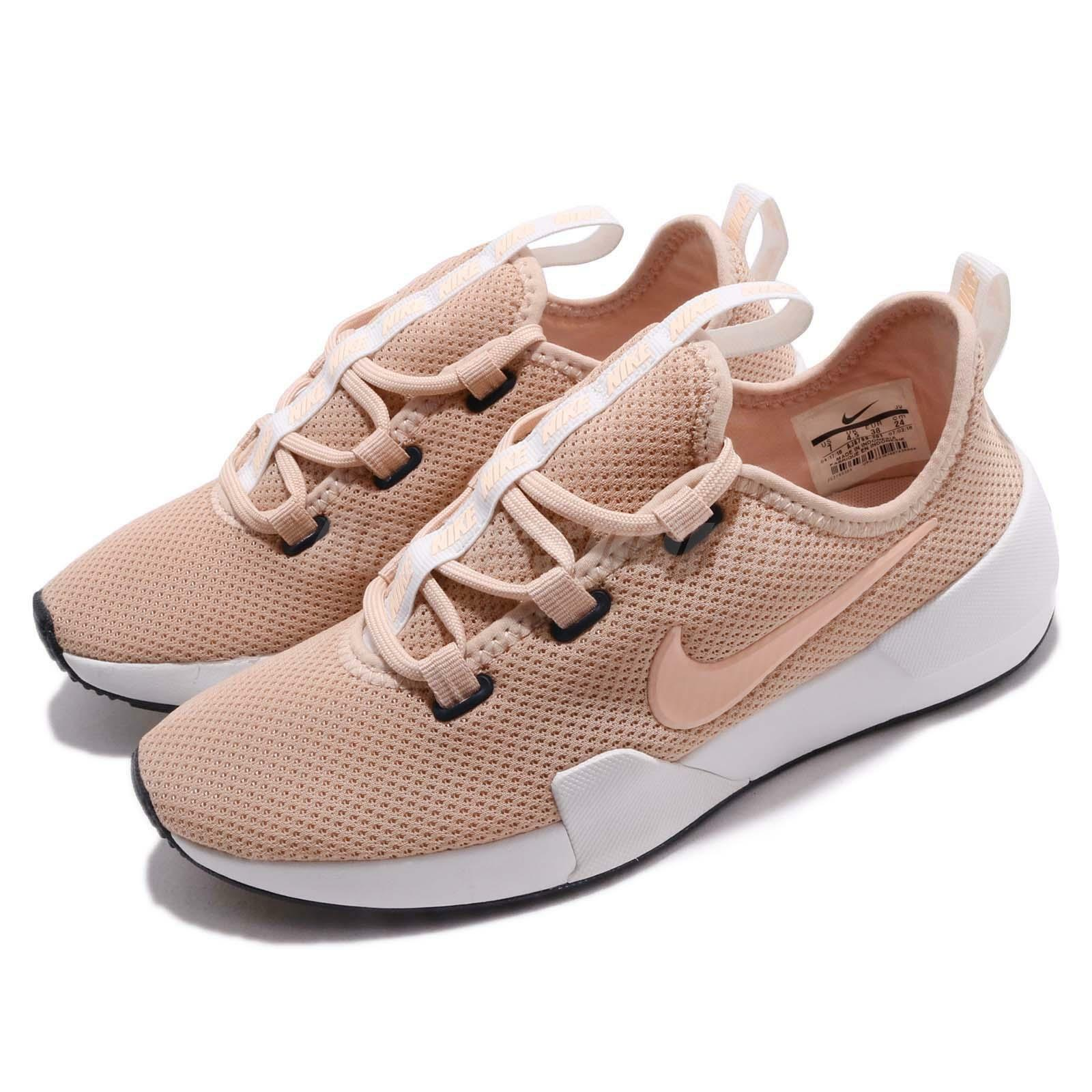 Nike Wmns Ashin Modern Particle Beige Crimson Tint Women Running shoes AJ8799-201