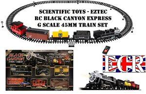 SCIENTIFIC-TOYS-EZTEC-RC-BLACK-CANYON-G-SCALE-KIDS-RAILWAY-TRAIN-SET-45MM-GAUGE