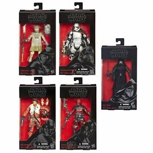 Star-Wars-TFA-The-Black-Series-6-Inch-Action-Figures-Wave-2-Revision-1-Set-of-5