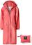thumbnail 9 - SaphiRose Women's Long Rain Jacket Waterproof Lightweight Hooded Raincoat