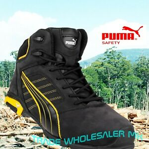 4ea2edd0ff Details about Puma Amsterdam Industrial Mens S3 SRC Safety Midsole & Toe  Cap Trainers