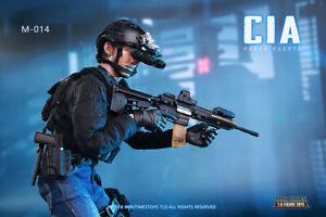 CIA Armed Agents 1//6 Scale Mini Times Action Figures Tactical Vest Set
