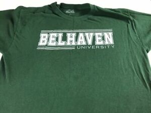 Belhaven University T-Shirt Adult SZ M/L Student Alumni Mississippi Blazers Grad