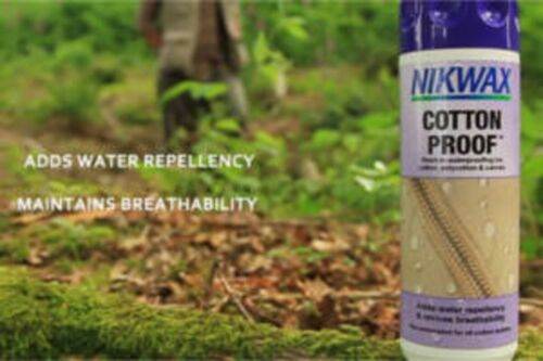 NIKWAX COTTON PROOF Wash-in waterproofing for POLYCOTTON TENTS