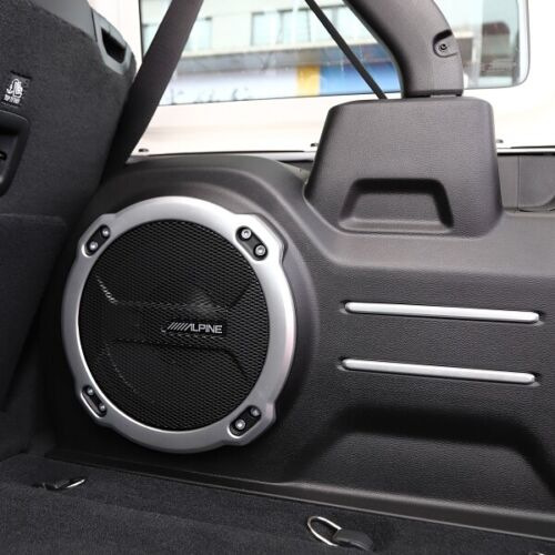 Silver Rear Trunk Cargo Speaker Cover Trim For Jeep Wrangler JL Rubicon 2018+