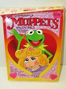 Vintage-1990-Jim-Hensons-Muppets-36-Valentine-Cards-Classroom-Exchange