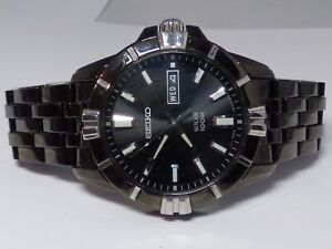 SEIKO-MEN-039-S-SNE177-MODERN-SOLAR-100M-WATCH-V158-0AH0