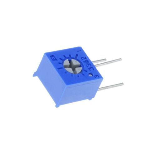 für den Einbau 1-Drehung,stehend 1kΩ 500mW BOURN 3362W-1-102LF Potentiometer