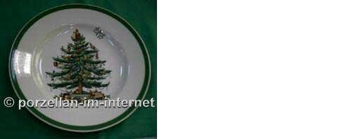 4 Speiseteller Teller flach 27cm Christmas Tree Spode Essteller Essteller Essteller Neu | Verwendet in der Haltbarkeit  7198a7