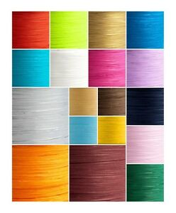 Paper Raffia Tying Ribbon 7mm 24 Colours Flowers Vintage Wedding Gifts
