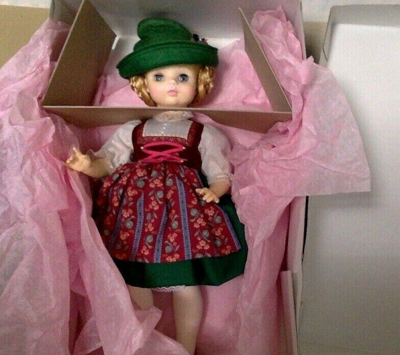 Vintage Doll. Madame Alexander.  Heidi . MIB. 14 . 1969